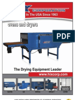 Hix Ovens and Dryers Brochure