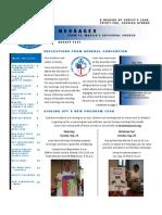 St. Martin's Episcopal Church Messages Newsletter - August 2012