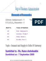 The Application of the Theoretical Apparatus of Supply and Demand to Units of Currency
