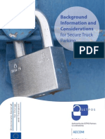 2010 04 Background Information and Considerations for Secure Truck Parking