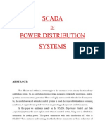 Scada in Power Distribution Systems