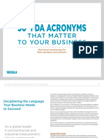 50+ FDA Acronyms That Matter to Your Business