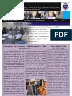 Newsletter ISSG-Issue 1, 2012