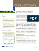 Weekly Economic Commentary 7-26-2012