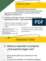 Mision, Vision, Objetivos y FODA