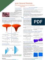 Singular General Relativity - ae100prg poster