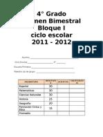4o Examen b1@Recreo