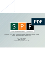 Senior Project 2012- Marketing, branding, social media strategy