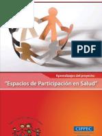 Espacios de Participacion en Salud CIPPECT