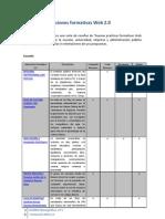 Aplicaciones Formativas Web 2.0