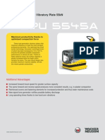 BPU 5545 - Plate Compactor