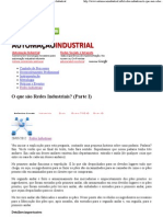O que são Redes Industriais (Parte I)  Automação Industrial