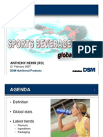 Sports Beverages Global Trends