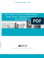 ESMAP (Technical Paper 123/09), Latin America and the Caribbean Region Energy Sector - Retrospektive Review and Challenges, 6-2009