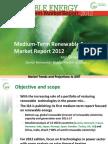 IEA 2012 Medium-Term Renewable Energy Market Report - presentation slides