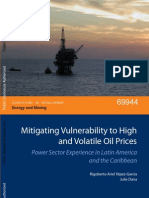 World Bank (ESMAP), Mitigating Vulnerability to High and Volatile Oil Prices - Power Sector Experience in Latin America and the Caribbean, 2012
