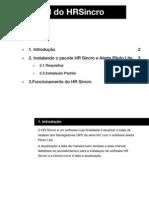 HRSincro Manual