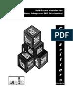 MRID Self Paced Modules - Classifiers