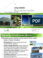 U.S. Virgin Islands Wind Energy Update, EDIN-USVI Energy Workshop, 6-2012