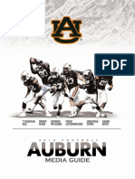 2012 Auburn Football Yearbook