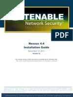 Nessus 4.4 Installation Guide
