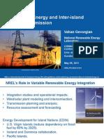 NREL, Renewable Energy and Inter-island Power Transmission, 5-2011