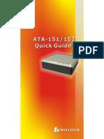 Voip Weltech model ATA-151 PC LAN Phone Con Trafo 12 voltios