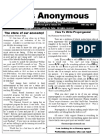 Idiots Anonymous Newsletter 23