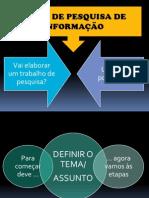 guião de pesquisa de informação