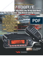 FT 7800R Brochure