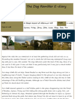 The Dog Rambler E-diary 26 July 2012