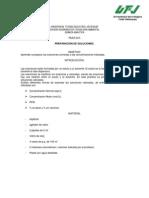 Practica 3 Quimica Analítica. Preparación de soluciones valoradas