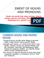 Agreement of Noun and Pronoun