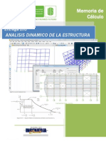 Analisis Dinamico de La Estructura