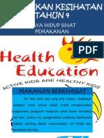 Pendidikan Kesihatan Tahun 4