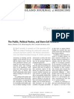 The PublicPoliticalPartiesandStemCellResearch