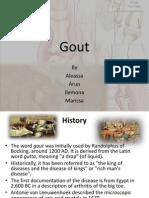 Gout Biochem