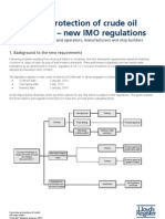 MmLR PSPC Cargo Oil Tank Guidance