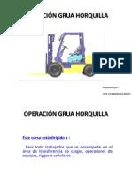 OPERACIÓN GRUA HORQUILLA BARRAZA