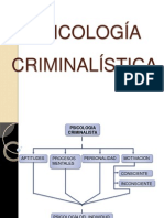 III UNIDAD Psicologia Criminalistica