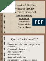 Ranicultura presentacion