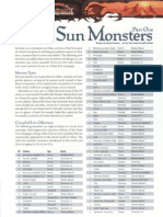 Dark Sun Monster Manual by Azamor
