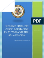 Informe Final oea
