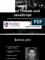 Blended Threats and JavaScript