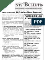 Parents Bulletin No. 4, s. 2012