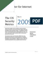 CIS Security Metrics v1.0.0