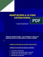Cambios Fisiologicos de Adaptacion de La Vida Intrauterina a La Extrauterina