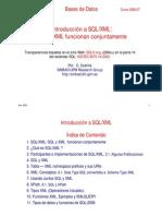 2 XML & SQL Introducción