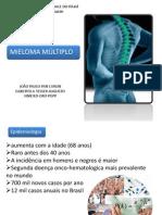 Mieloma múltiplo - Caso clínico