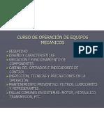 Presentacion Del Curso de Operacion
